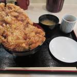 ぎおん 天ぷら 天周 - 【天周流 かき揚げ天丼(最大10食限定) 1600円】