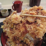 ぎおん 天ぷら 天周 - 重いです…(笑)