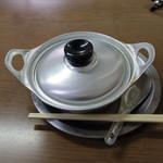 ことり - 「鍋焼きうどん ¥550」2017年寒中