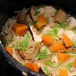 61716807 - 鯛と季節の食材の組み合わせ