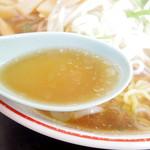 黄金 - 2017年1月 鳥取県西部特有の煮込みすぎてない牛骨スープ