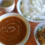 王様のカレー タージマハール - 料理写真: