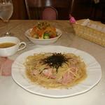 洋風めし屋 ラパンアジル - [料理] パスタ‣スープ‣サラダ