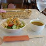 洋風めし屋 ラパンアジル - [料理] サラダ & スープ