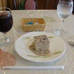 洋風めし屋 ラパンアジル - [料理] Ice珈琲 & 小豆ムース