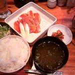 6172812 - デジカルビ定食(ライス大盛り無料) 680円