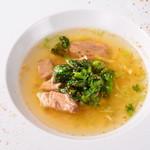 レストラン ビブ - ◆スペアリブとスパイスのシンガポール風ブイヨンスープ