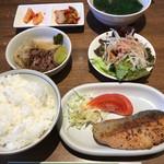きらく亭 - 料理写真:日替わりランチ(税込900円)(2017.01現在)