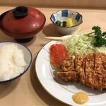 とんき - ロースかつ定食