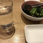 武くら - サービスの野沢菜