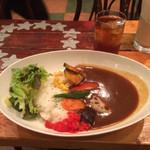欧風屋 - ランチ 野菜カレー