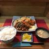 キッチン彩 - 料理写真:『本日のおすすめ』のカキフライ ハンバーグ('17/01/26)
