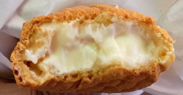 たい焼き あべちゃん - チーズクリームたい焼きの断面