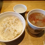 スープストックトーキョー - 参鶏湯+ライス