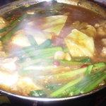 モッツバー 牛屋 井上 - もつカレー鍋