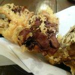 うどん屋 きすけ - 舞茸の天ぷら