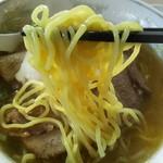 ほうれんそう - 1701 ほうれんそうチャーシュー麺とライス@1,060円 麺はごくごく一般的
