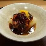 ふじ原 - 牡蠣味噌煮と風呂吹き