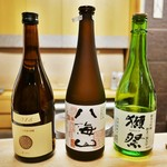 ふじ原 - お酒たち