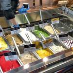 ラト・リーチェ お箸の国 de ジェラート - ジェラートの冷凍ショーケース