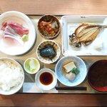 61747352 - 天涼定食 焼魚 1296円