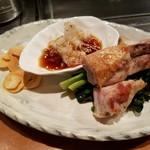 OSAKA きっちん - 大山鶏のガーリック焼(¥1,300−)