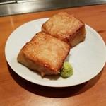 OSAKA きっちん - 美味!!焼きごま豆腐(¥580−)