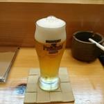 61749940 - ビール小。