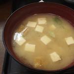 もぐらや - 豆腐いっぱいあつあつです