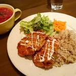 スラヴ料理 カフェアリョンカ - ある日のランチ