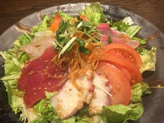 魚大将 うまかっぺや - 魚大将サラダ¥580(税別)
