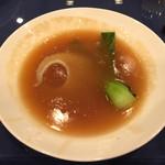 八重洲大飯店 - 最上ふかひれの姿煮パイタン醤油仕立て