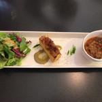 焼津 大切な人と行くイタリアン料理 ヴェント - 前菜 サラダ、フリッタータ、スープ