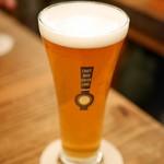 クラフトビアサーバーランド - 所沢ビール ザ・キャノンボール Glass¥500