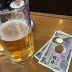 61753597 - まずはビールから