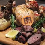 肉バル 肉ソン大統領 - 肉ソン 肉・肉・肉盛り合わせ
