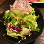 焼肉ぷるこぎ - 野菜サラダ