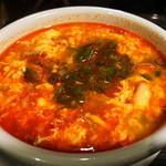 焼肉ぷるこぎ - ユッケジャンスープ