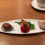 古谷 - 料理写真:前菜