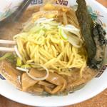 てんこもりラーメン - 麺リフト