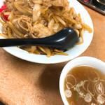 てんこもりラーメン - 生姜焼き丼 770円