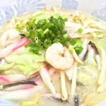 湯快爽快ちがさき店 お食事処 - 料理写真:760円『野菜たっぷりちゃんぽん』2017年1月吉日