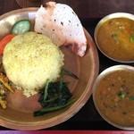 ポカラ キッチン - ネパールダルバットセット