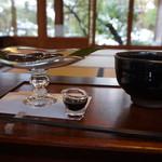 61756787 - わらび餅と抹茶