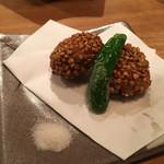 萬 燕楽 - 蓮根饅頭 ハーフサイズ