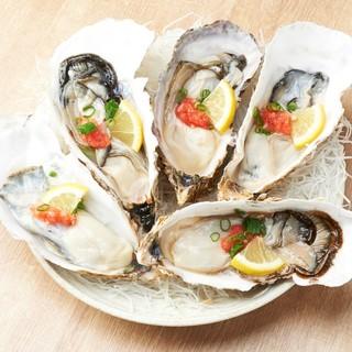 新鮮!海鮮料理も豊富です。