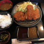 61759893 - ロースカツ定食 1,100円 税込
