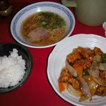 ニュー北京 - 酢豚ランチ650円
