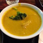 バール=タラ - 野菜カレー