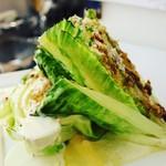 ビストロ藏の灯 - 焼きシーザーサラダ